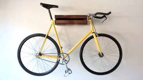 Para que la bici no sea un estorbo