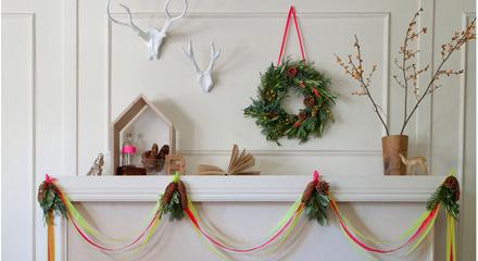 Decoración navideña distinta