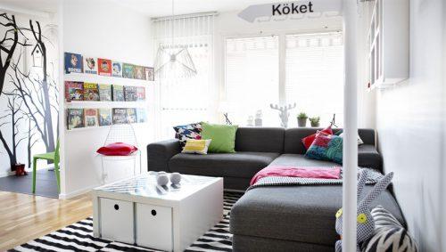 El sofá en L
