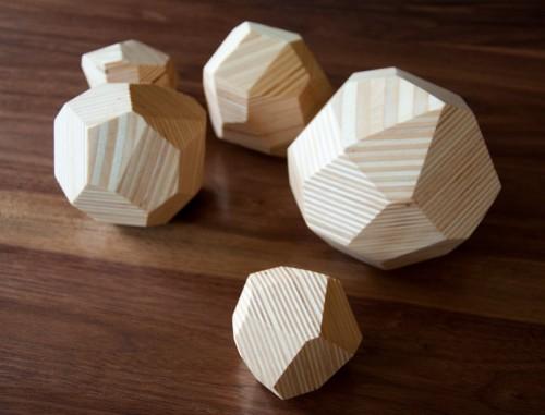 Gemas de madera reciclada