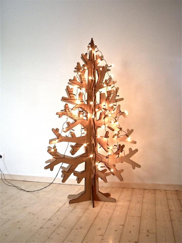 arbol de navidad de cartn depto51 blog - Arbol De Navidad De Carton
