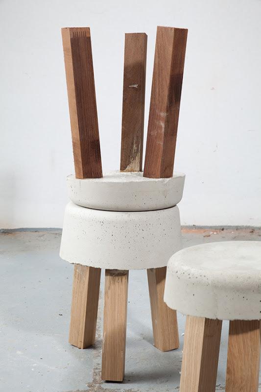 Bancos de concreto y madera depto51 blog - Bancos de cemento ...