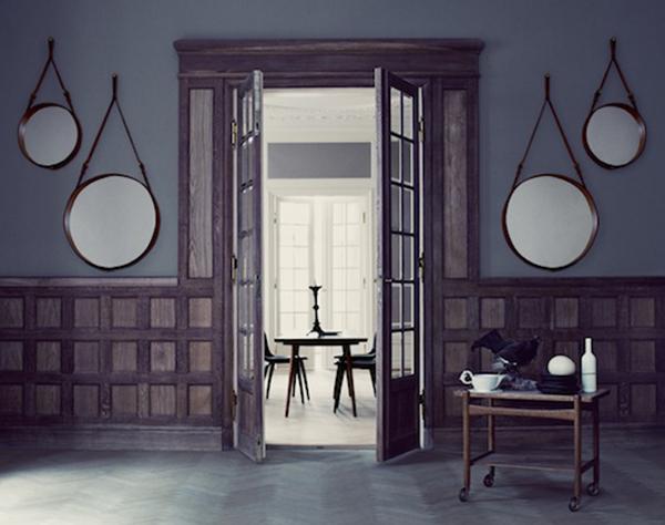 Los espejos de Jacques Adnet