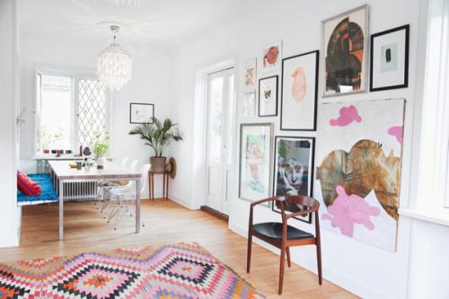 La casa de la ilustradora Anne Bundgaard