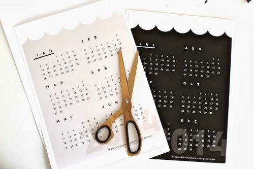 Calendarios para este nuevo año