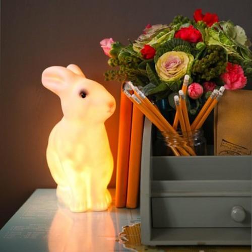 7 formas de usar la lámpara de conejo