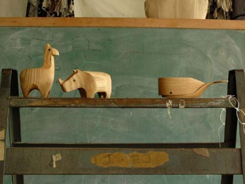 Animales de madera / Karl Zahn
