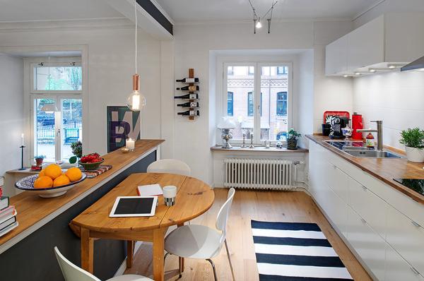 Una cocina en altillo