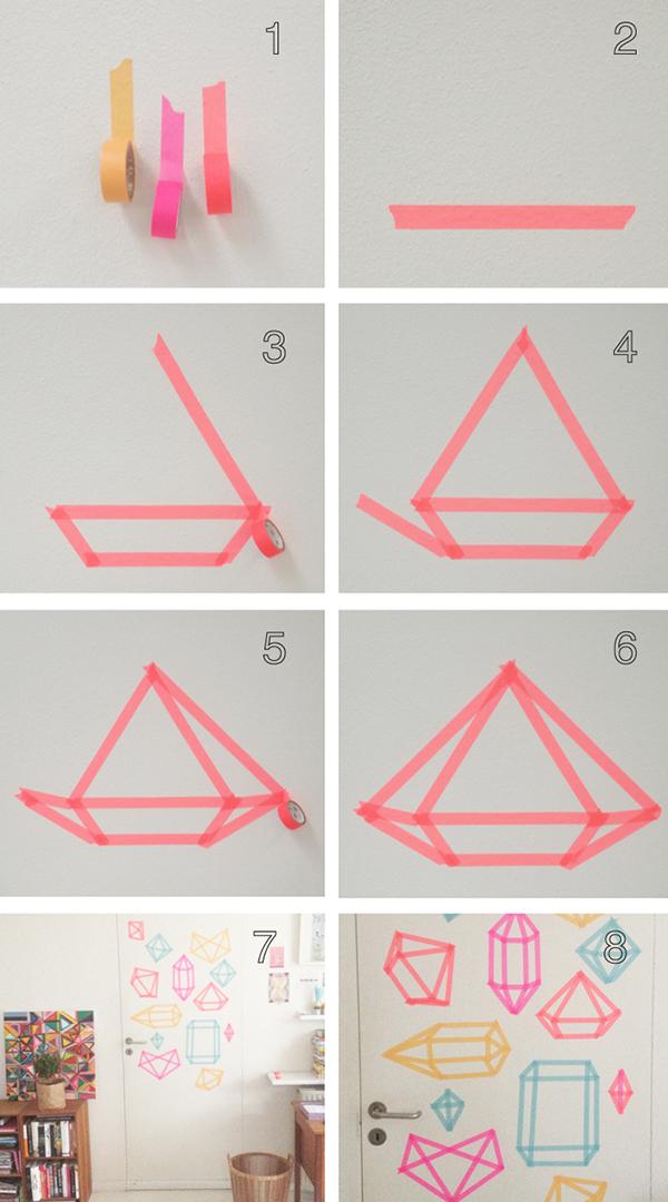 Dibujando con washi tape depto51 blog - Masking tape deco ...