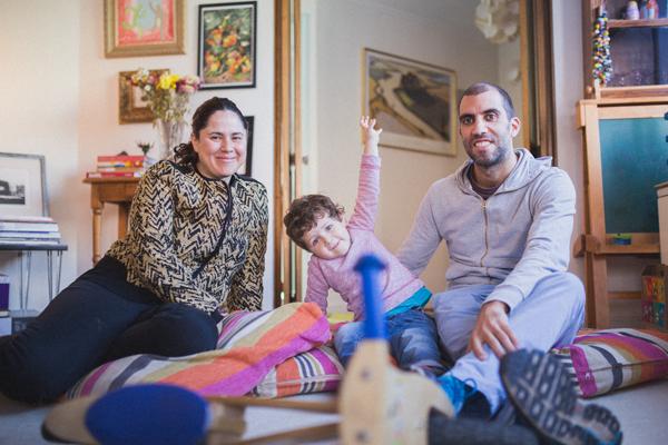 Carola Irribarren y Felipe Gutierrez, dueños de la tienda Oofelia