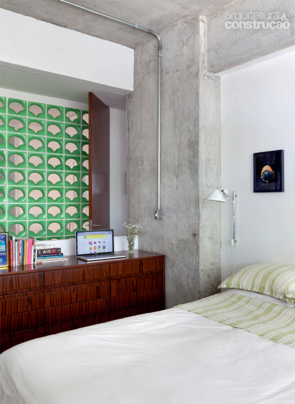 Decoración con tonos de verde - Depto51 Blog