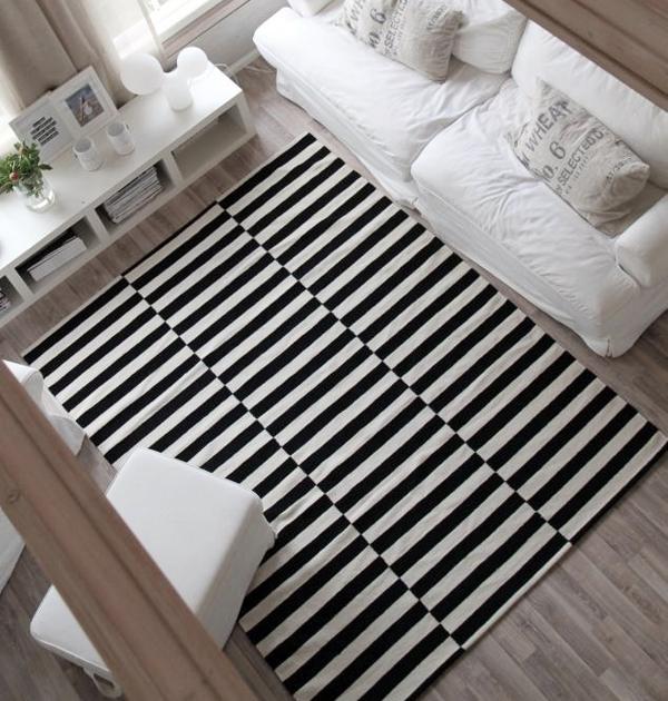 C mo elegir una alfombra y darle un uso correcto for Alfombras de living