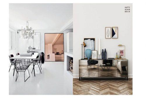 Piso blanco vs Piso en madera