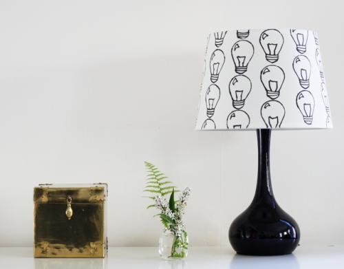 10 pantallas DIY para renovar tus lámparas