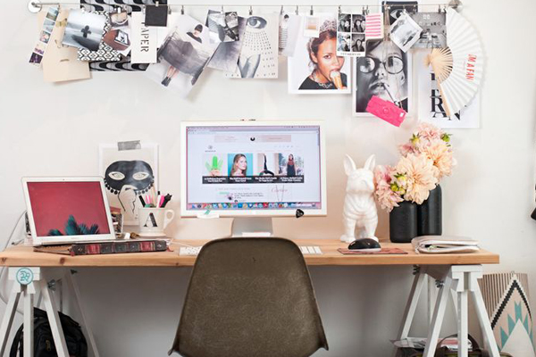Trabaja entretenido y renueva tu escritorio depto51 blog for Como decorar mi escritorio de trabajo
