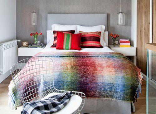 Tres estilos, tres dormitorios