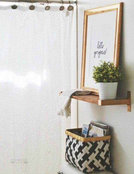Presupuesto Baño Nuevo:Aprovecha el espacio que está arriba de la puerta del baño para