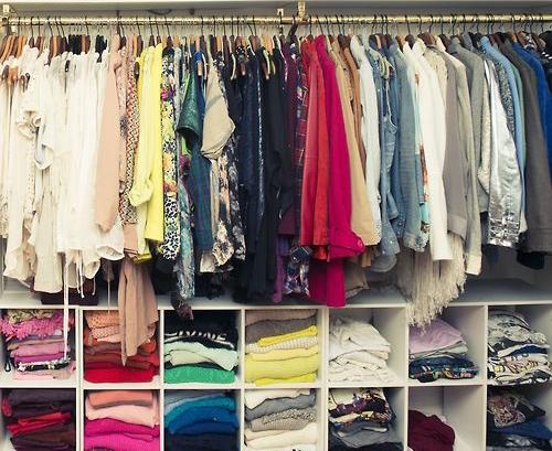 C mo organizar mi cl set depto51 blog for Como organizar mi armario