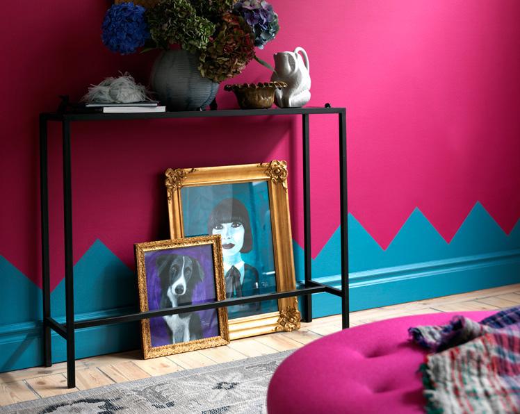 10 ideas poco comunes para pintar tus muros depto51 blog - Combinar colores en paredes ...