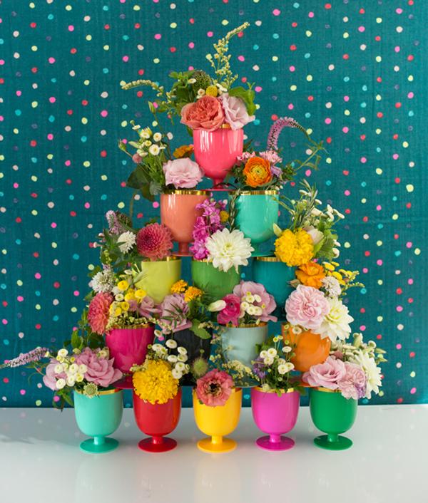 6 ideas poco comunes para decorar con flores