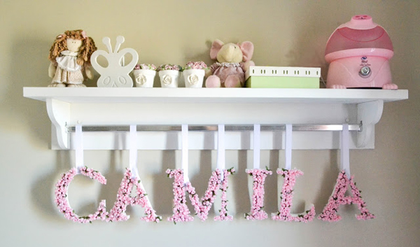 10 ideas para decorar con letras depto51 blog - Letras para decorar ...