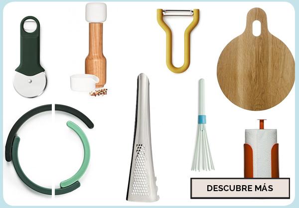 18 utensilios de cocina b sicos y con dise o depto51 blog for Lista utensilios para bano