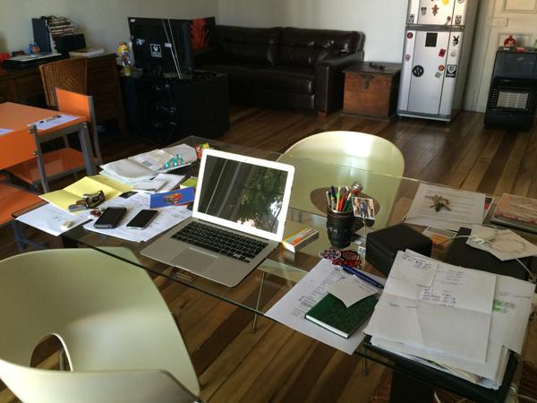 Mi escritorio felipe arriagada depto51 blog - Escritorio de trabajo ...