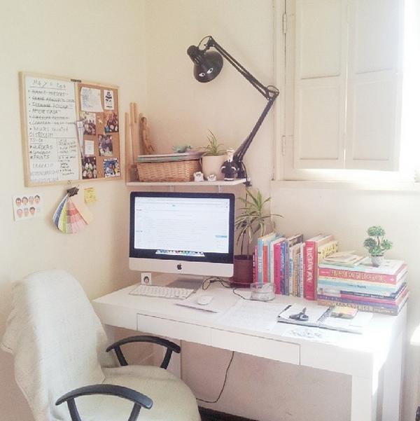 Los 9 escritorios con m s estilo del 2014 depto51 blog - Escritorio de trabajo ...