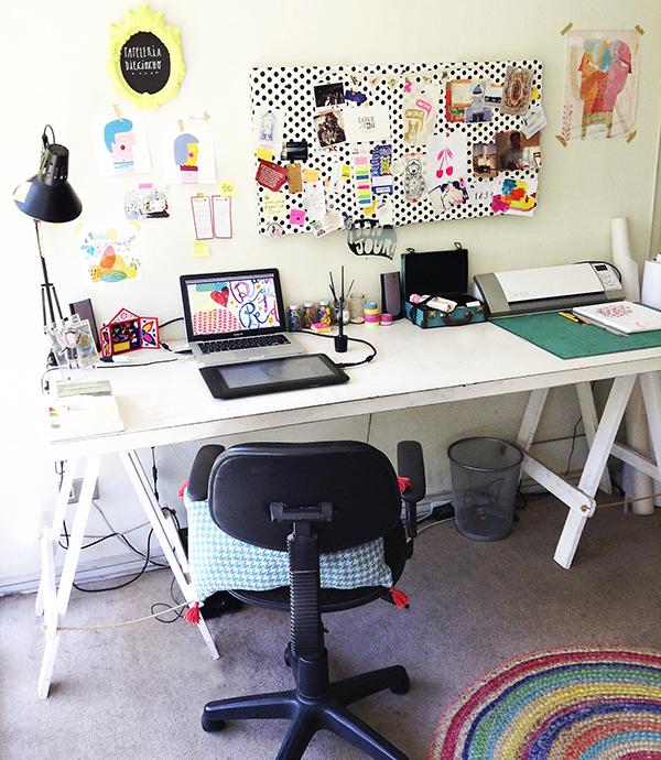 Los 9 escritorios con m s estilo del 2014 depto51 blog for Escritorios para disenadores
