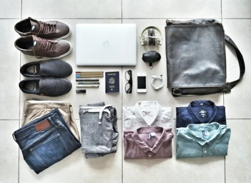 Iampacked.com, fotos dentro de la maleta