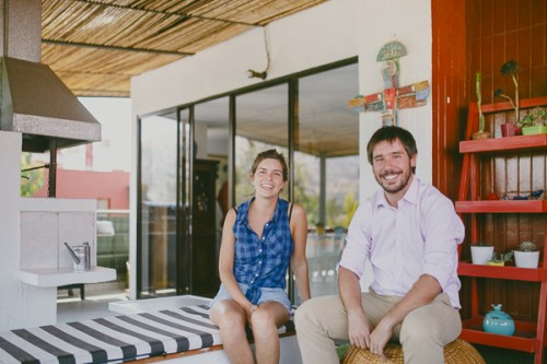 Consuelo Walker y Benjamín Perez, artista visual y empresario