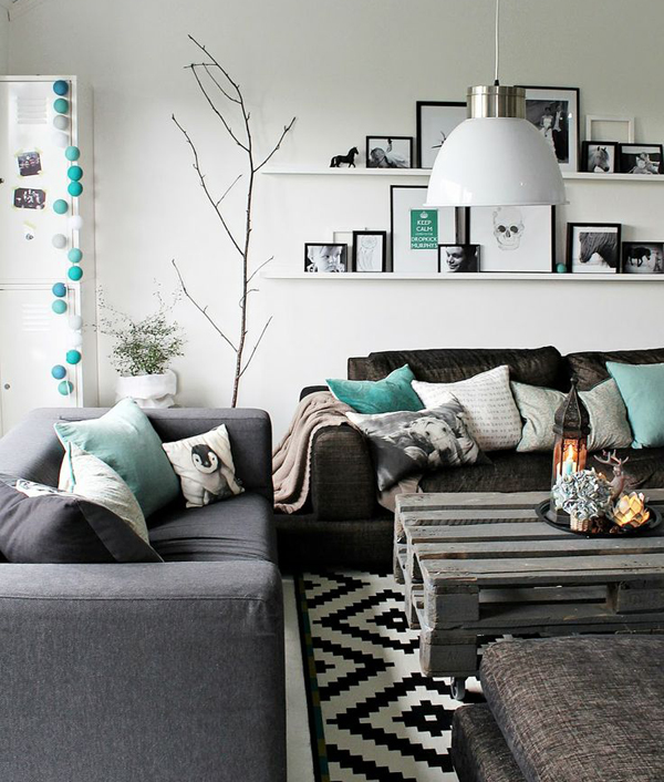 8 simples ideas para un living amigable depto51 blog depto51 blog - Decoratie salon grijs wit ...