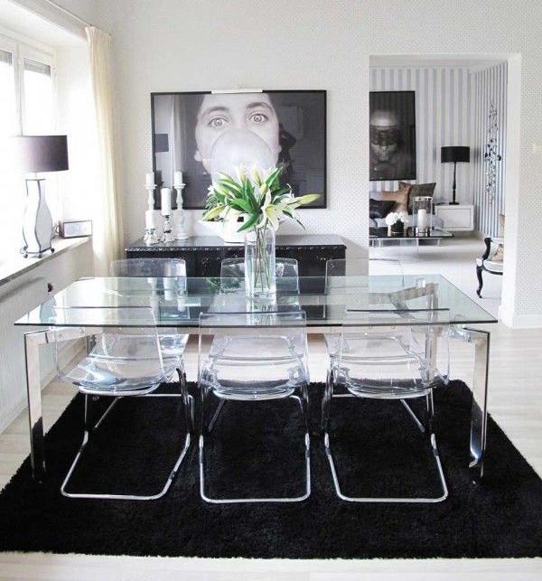 Mesas de vidrio ventajas y desventajas depto51 blog for Decorar una mesa de comedor de cristal