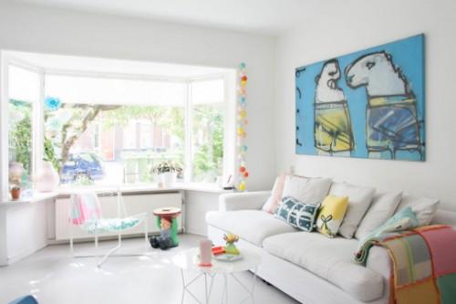 Una casa con corazón y color en Holanda