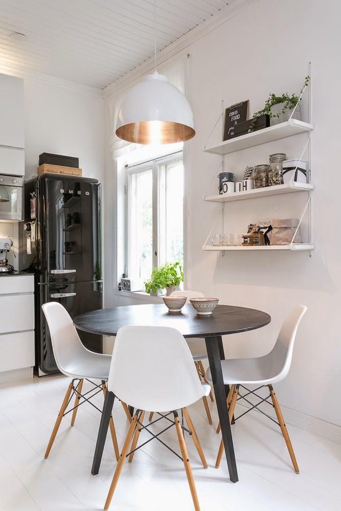qu mesa de comedor le conviene a tu espacio depto51 blog - Mesa Redonda Comedor