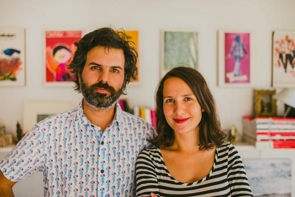 Amelia y Martín, creadores de la marca Ladera Sur