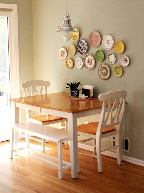 7 ideas para un comedor de diario depto51 blog for Small dining table decor ideas