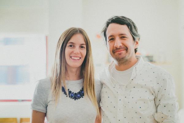 Camila Pinto y Felipe Arriagada, diseñadora e ingeniero