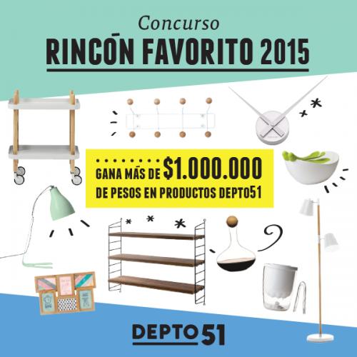 Concurso Rincón Favorito 2015, esperamos tus fotos