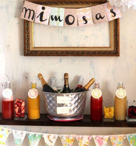 Una fiesta brunch en tu casa en 5 pasos