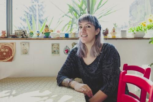 Felicia Morales, músico y peluquera