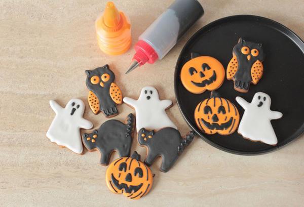 Receta: galletas de Halloween
