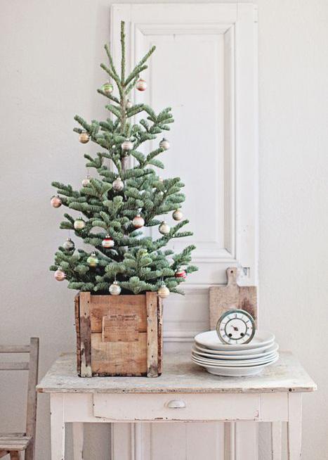 6 rboles de navidad para espacios peque os depto51 blog for Arbol de navidad pequeno