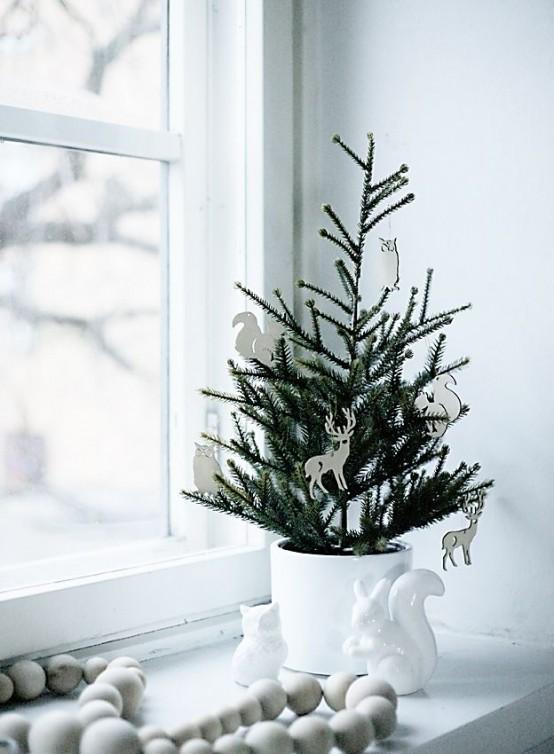 6 rboles de navidad para espacios peque os depto51 blog for Slender trees for small spaces