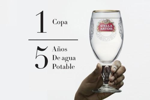 """Compra tu copa Stella Artois y sé parte de la campaña """"Buy a lady a drink"""""""
