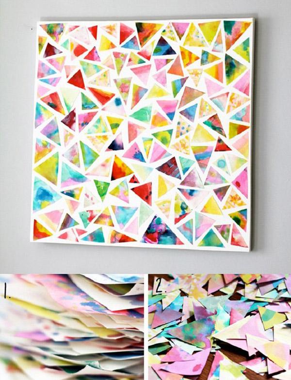 Triangle-Wall-Art