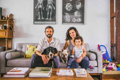 Loreto Lustig y Andrés Lagos, actriz y diseñador