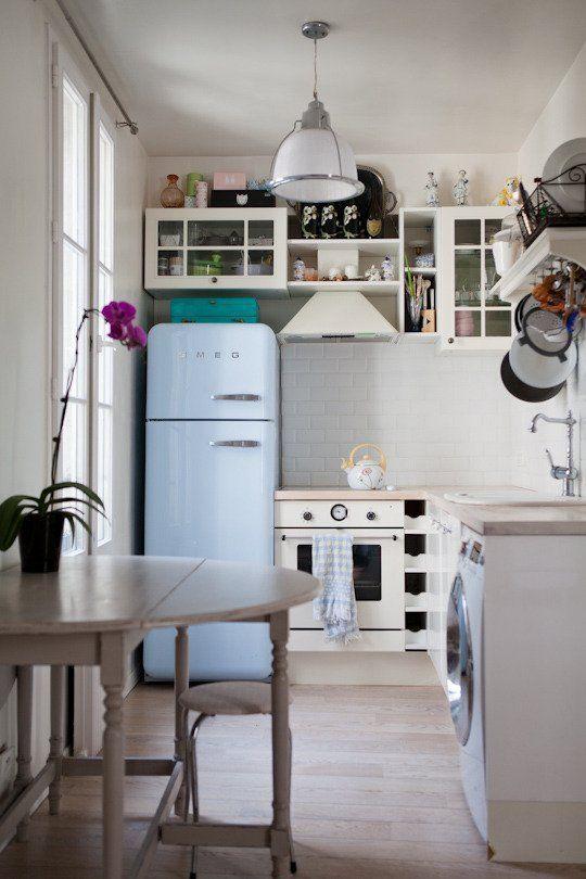 El refrigerador Smeg ya está en Chile
