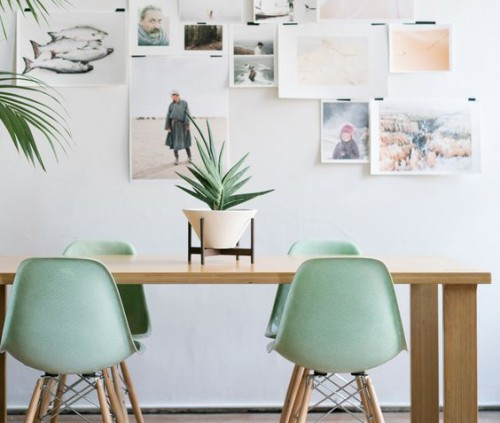Nueva Tendencia: Decoración en Blanco & Verde