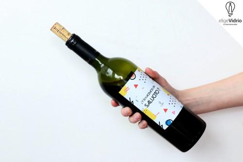 Botellas de vino super especiales